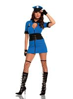 EM-9513 Intriguing Interrogator Sexy Womens Costume
